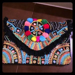 Sam Edelman Circus detail resort style bag.